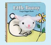 Pottery Barn Kids Little Bunny Finger Puppet Book