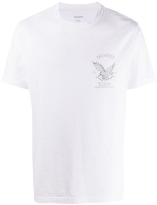MHI embroidered logo T-shirt