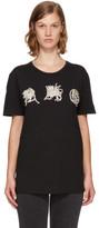 Alexander McQueen Black Mythical Logo T-shirt