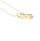 Campise Block Letter Love Bracelet
