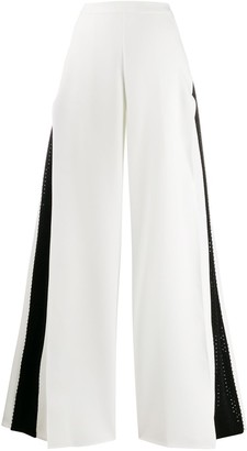 Avaro Figlio Sequin Stripe Trousers