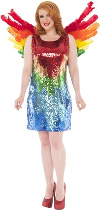 Delicious Of Ny Delicious Sequin Front Pull Over Dress Polly