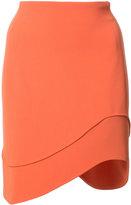 Thierry Mugler waved skirt - women - Polyester/Acetate - 36