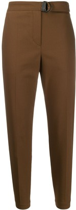Brunello Cucinelli Belted Slim-Fit Trousers