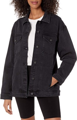 The Drop Women's Andrea Oversized Denim Jacket