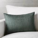 "Crate & Barrel Leona 22""x15"" Pillow"