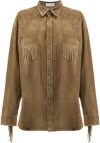 Faith Connexion fringed shirt