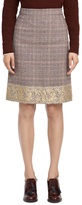 Brooks Brothers Wool A-Line Skirt