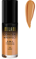 Milani Conceal And Perfect 2 In 1 Foundation And Concealer - Amber