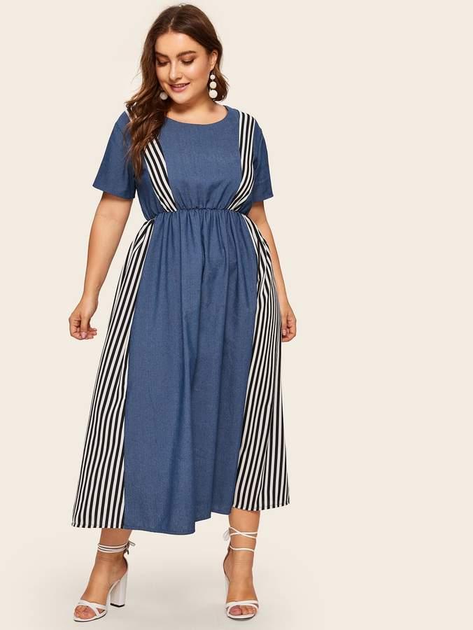 8a950c520288 Plus Size Denim Dress - ShopStyle