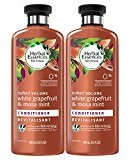 Herbal Essences Biorenew White Grapefruit & Mosa Mint Naked Volume Conditioner, 13.5 FL OZ (2 Count)
