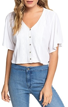 Roxy Hanging Moon Cropped Top