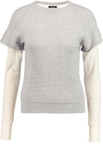 R 13 Layered Cotton And Cashmere-Blend Sweater