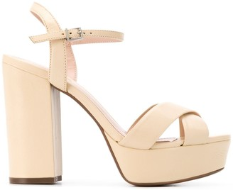Schutz Platform High Heel Sandals