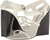 CNC Costume National Strappy Wedge Sandals