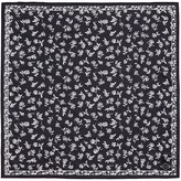 Rag & Bone Floral print cotton-silk bandana