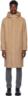 Herno Tan Long Duffel Coat