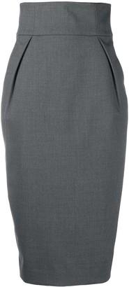 Alexandre Vauthier High-Waist Tailored Skirt