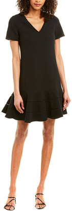 Rebecca Taylor Text Shift Dress