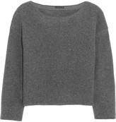 Theory Edasha Amazingly felted wool-blend sweater
