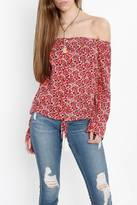 MinkPink Shoulder Baring Blouse