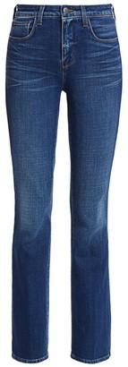 L'Agence Oriana High-Rise Straight-Leg Jeans
