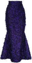 Bambah Violeta fishtail skirt
