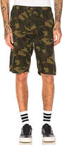 Stussy Camo Beach Short in Army. - size M (also in S)