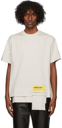Ambush Beige New Waist Pocket T-Shirt