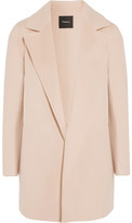 Theory Clairene Wool And Cashmere-blend Coat - Pastel pink