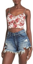 Leith Print Crop Camisole