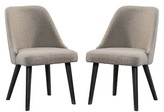 Laguna Upholstered Dining Chair (Set of 2) Union Rustic
