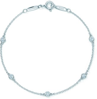 Tiffany & Co. Elsa Peretti Diamonds by the Yard bracelet in sterling silver
