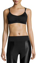 Koral Activewear Anchor Strappy Versatility Sports Bra, Black