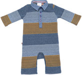 Fore Caddie Striped Polo Coverall, Size 3-18 Months