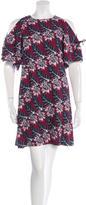 Thakoon Floral Print Mini Dress