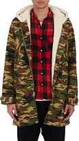 NSF Men's Nosef Camouflage Twill Oversized Jacket