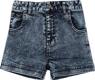 Bardot Acid Wash Denim Shorts