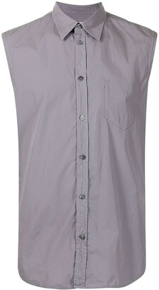 Maison Margiela Sleeveless Cotton Shirt