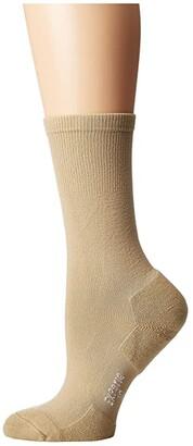 Thorlos Experia Dress Crew Single Pair (Black) Women's Crew Cut Socks Shoes