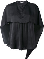 Christian Wijnants cape style blouse - women - Polyester - 38