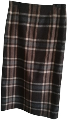 Laura Urbinati Multicolour Wool Skirt for Women
