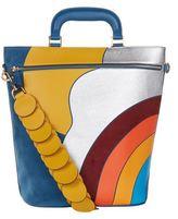Anya Hindmarch Orsett Rainbow Top Handle Bag