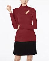 Catherine Malandrino Catherine Dessie Cutout Turtleneck Sweater