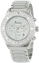 Freelook Women's HA9083CHM-4 Aquamarina Royale Stainless-Steel Crystal Dial and Bezel Watch