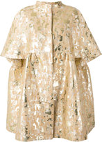 Gianluca Capannolo embroidered brocade coat - women - Cotton/Nylon/Polyester/Polyimide - 42