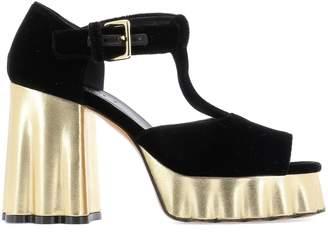 Marni Block Heel Platform Sandals