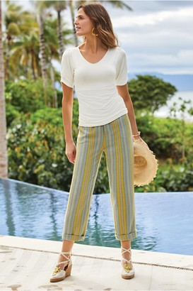 Women Caldera Stripe Pants