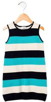 Milly Girls' Striped Knit Dress w/ Tags