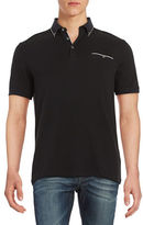 Black Brown 1826 Ice Cotton Polo
